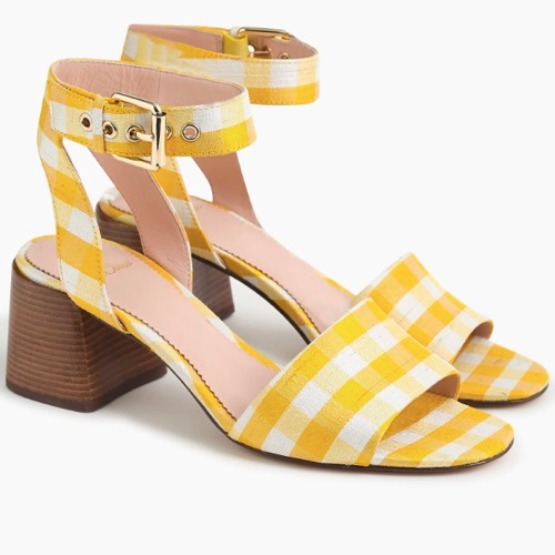 The Daily Hunt: Sunny Yellow Gingham Heels and more!