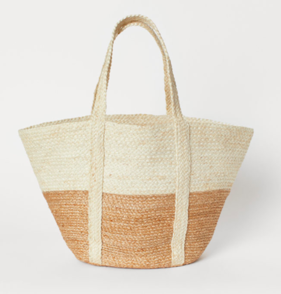 The Daily Hunt: Color Block Jute Tote and more!