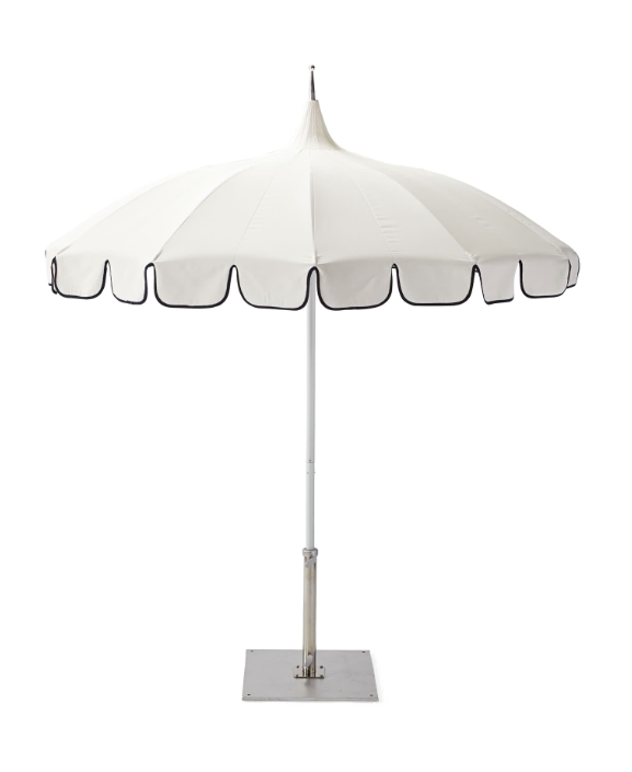 Eastport Pagoda Umbrella Outdoor White