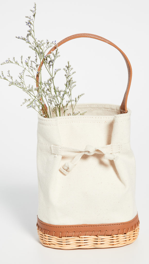 Canvas Basket Purse