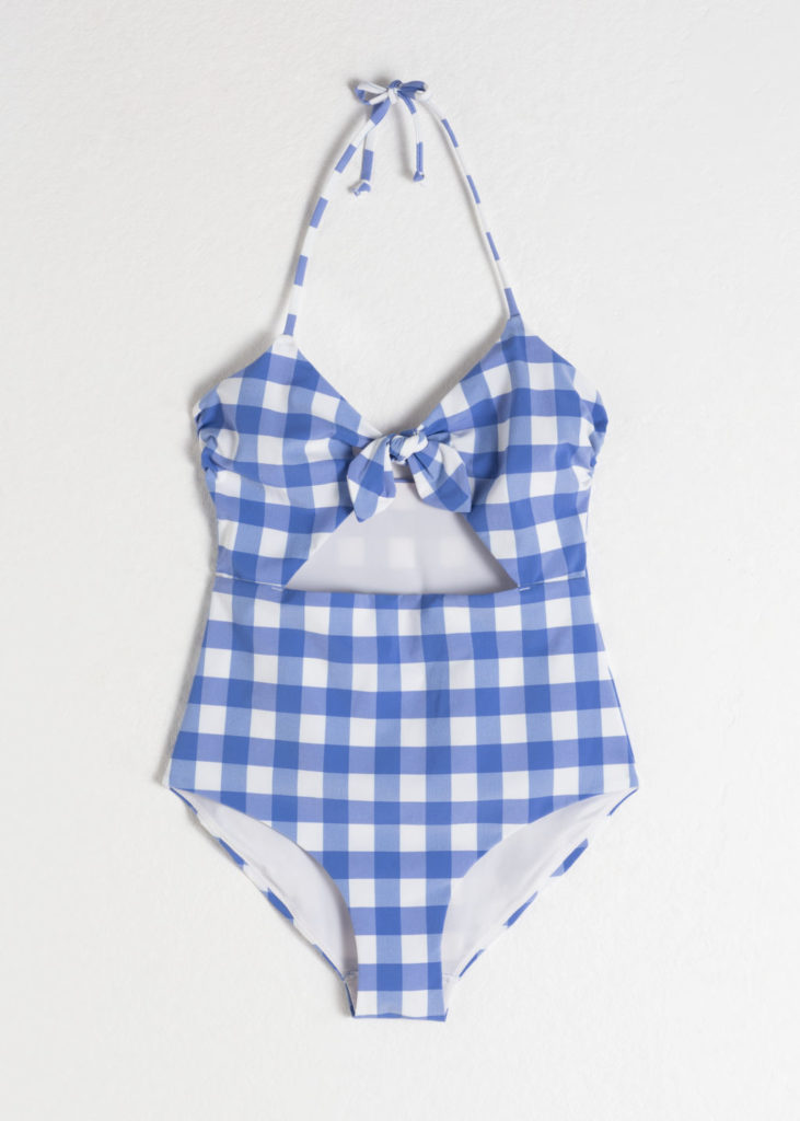 950f40be099 The Daily Hunt: Gingham Halter Swimsuit and more! - Katie Considers