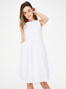 The Daily Hunt: Sweet White Scalloped Dress and more!