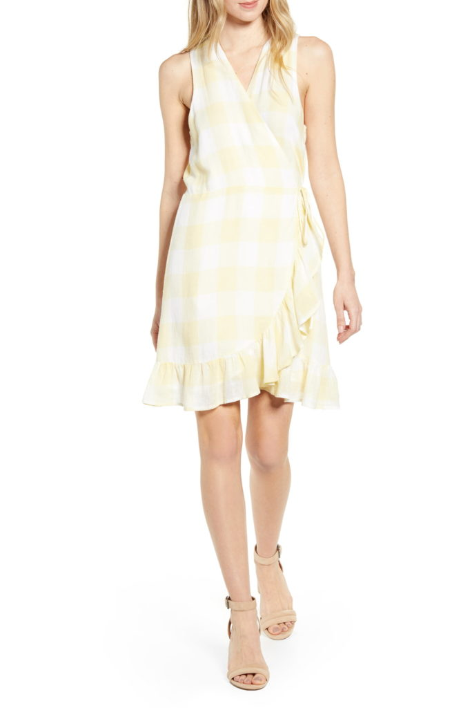 Limoncello Check Dress