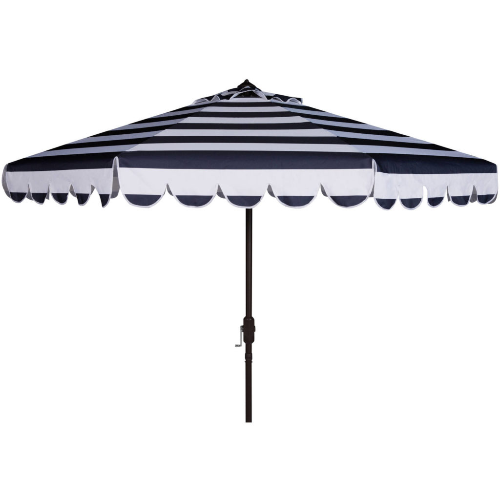 Scallop Stripe Outdoor Umbrella