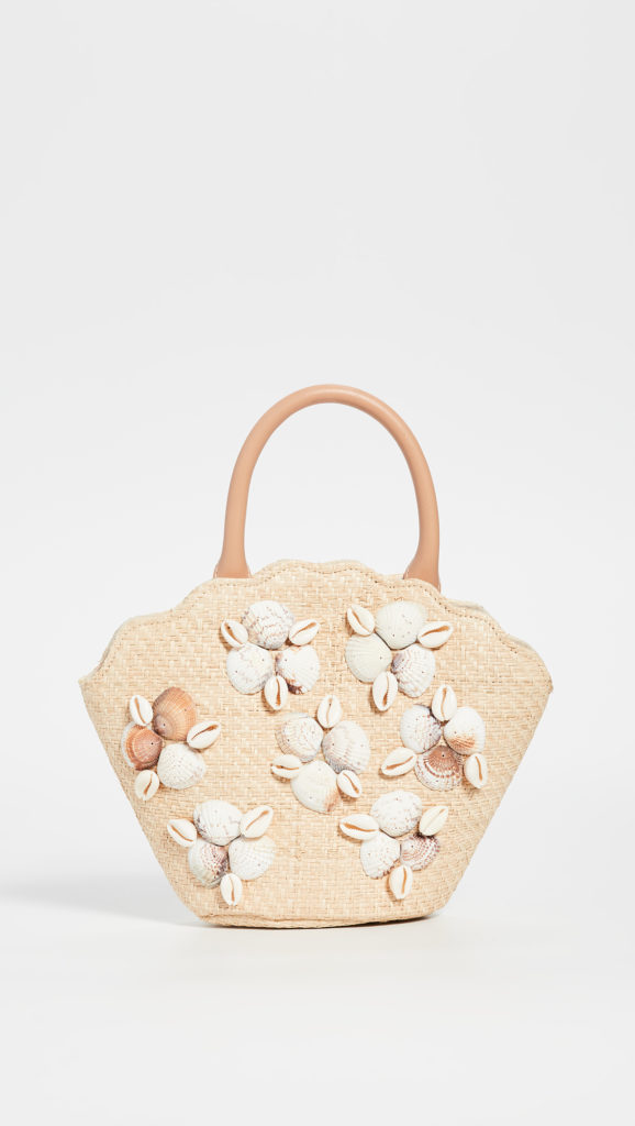 Straw Shell Purse