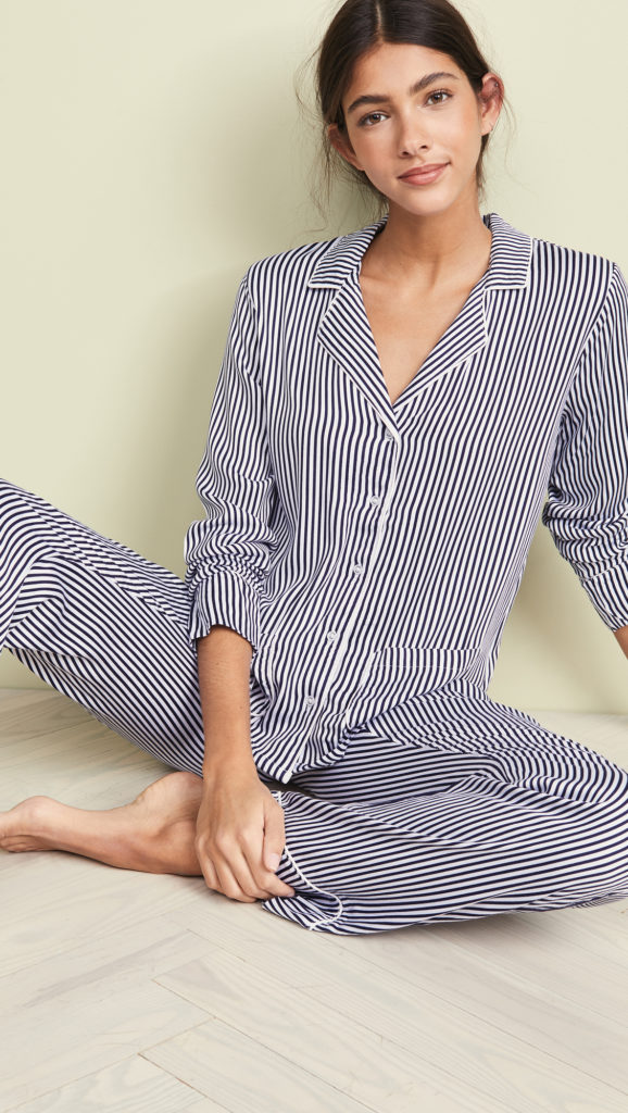 Stripe PJ Set