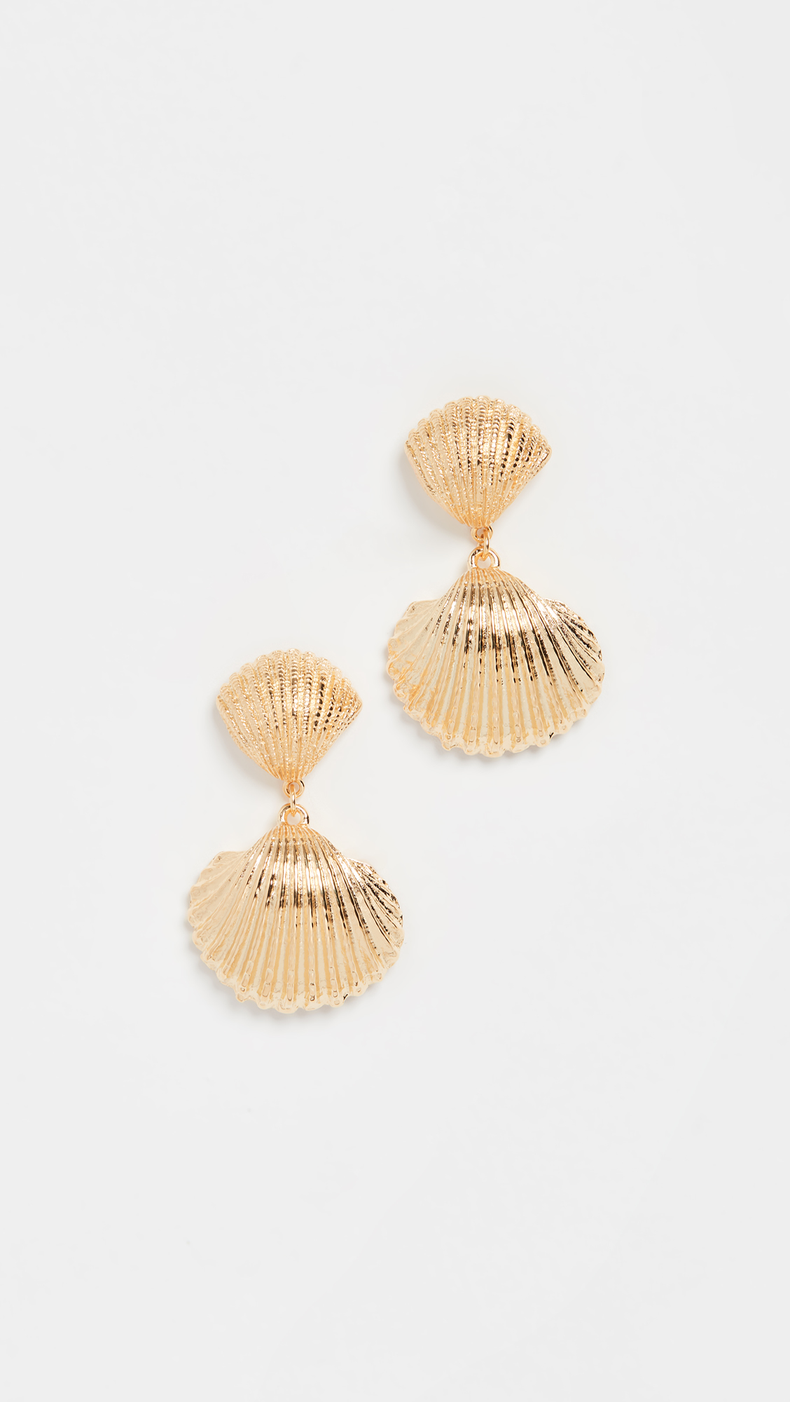 Shell Accent Earrings