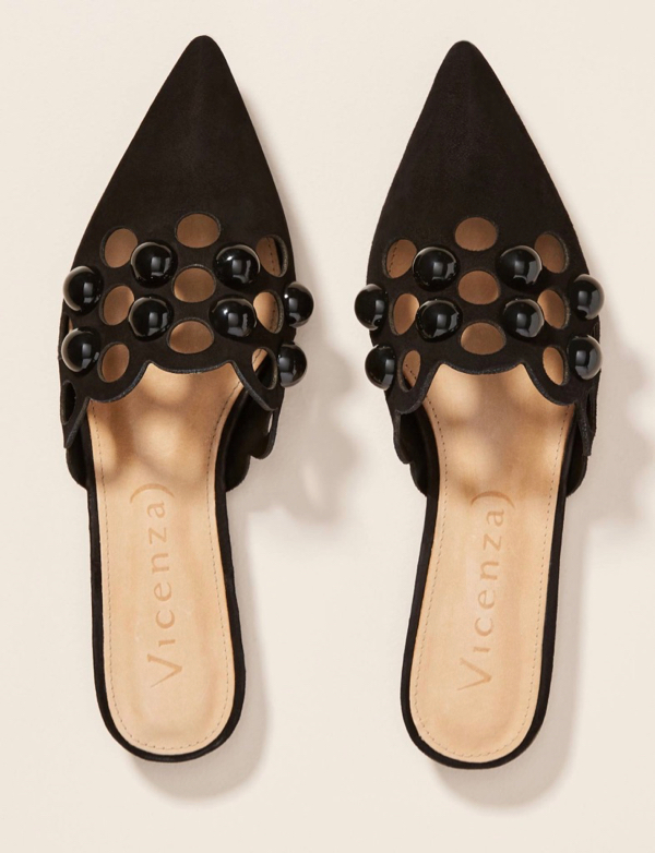 The Daily Hunt: Studded Cut-Out Flats and more!