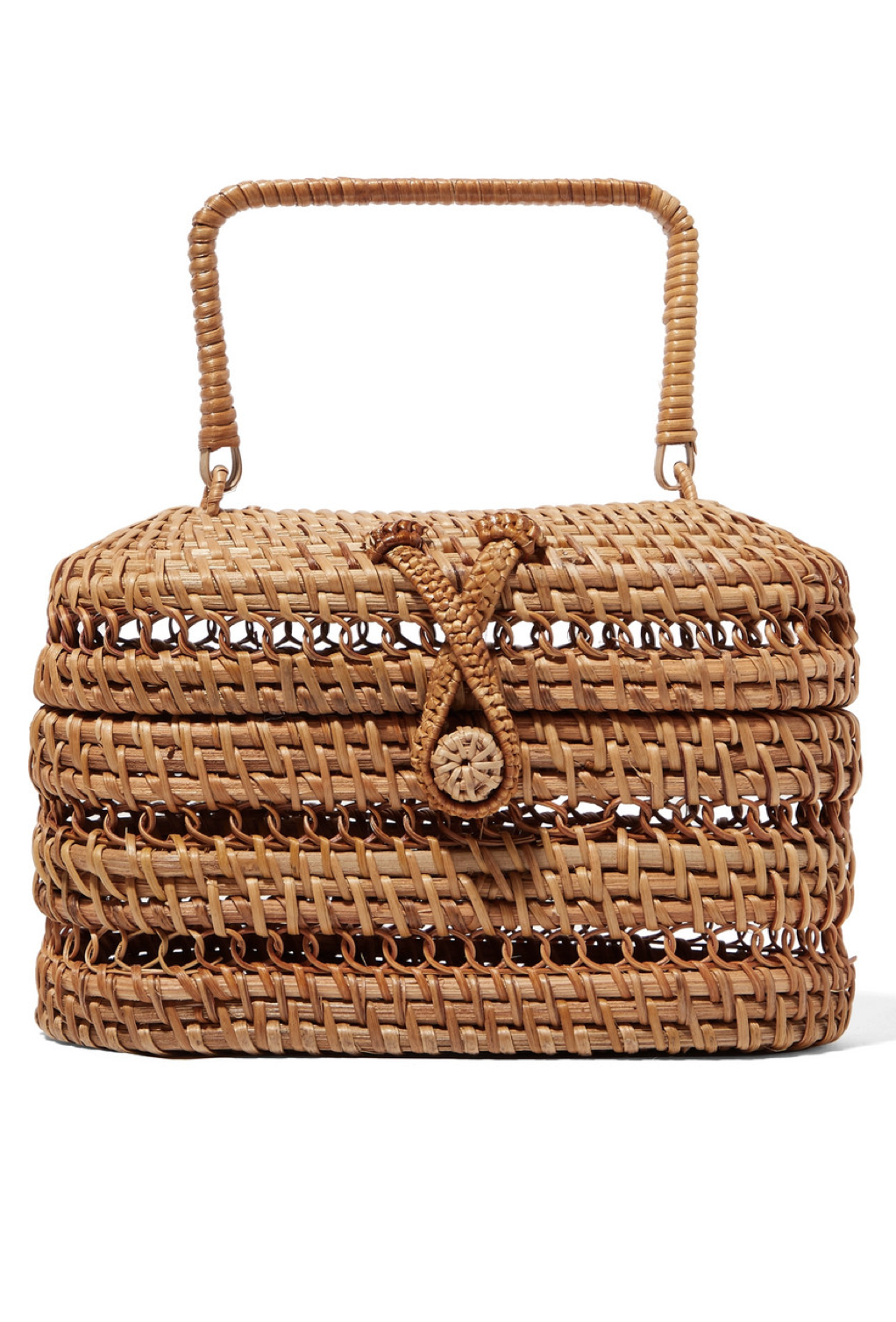 Rattan and Bamboo Purse