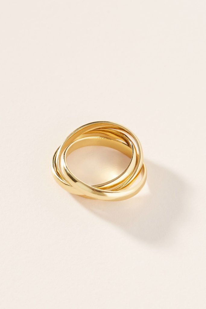 Yellow Gold Trinity Rings