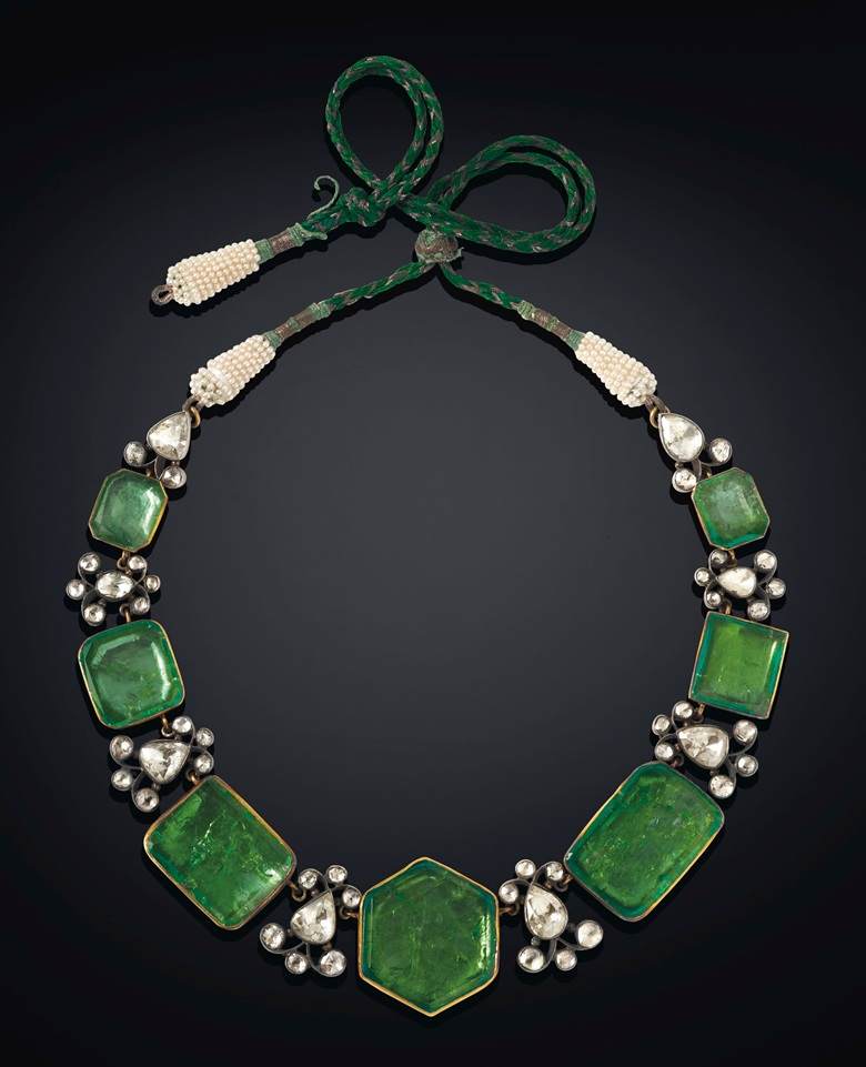 Antique Emerald and Diamond Sarpech Maharajas & Mughal Magnificence Christie's