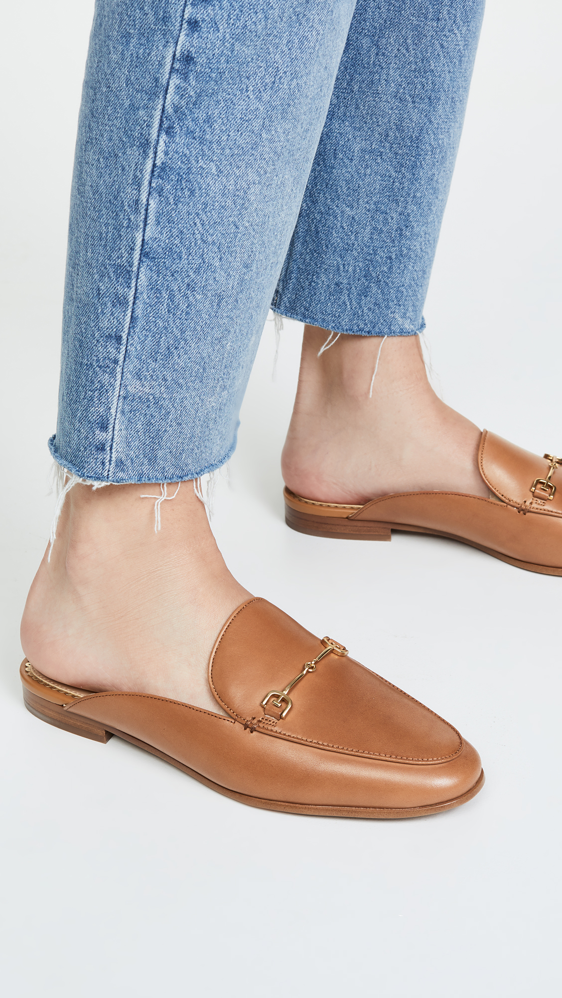 Linnie Leather Mules