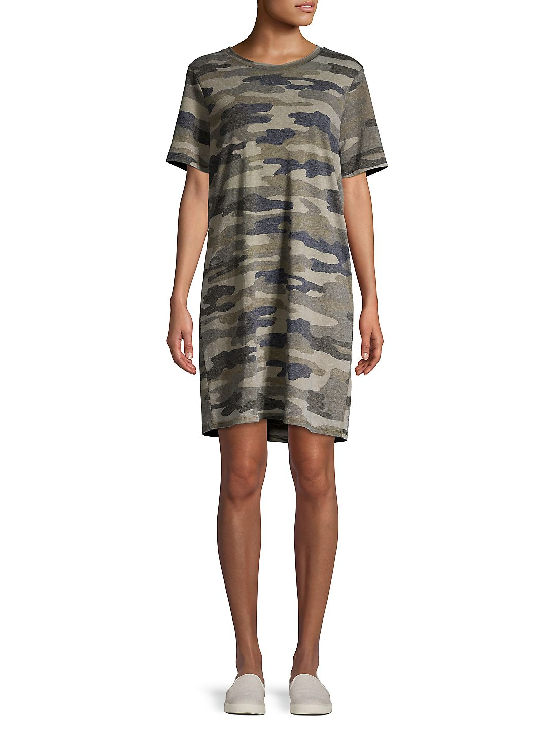 Camouflage T-Shirt Dress