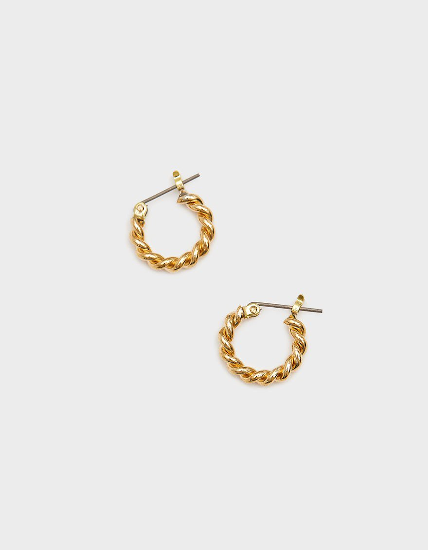 Mini Twist Hoops