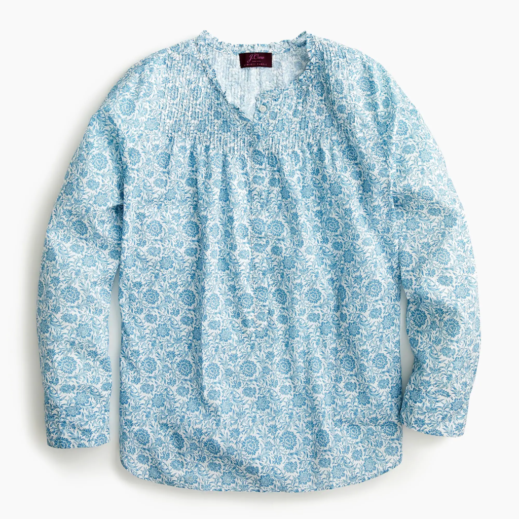 Liberty Floral Popover Shirt
