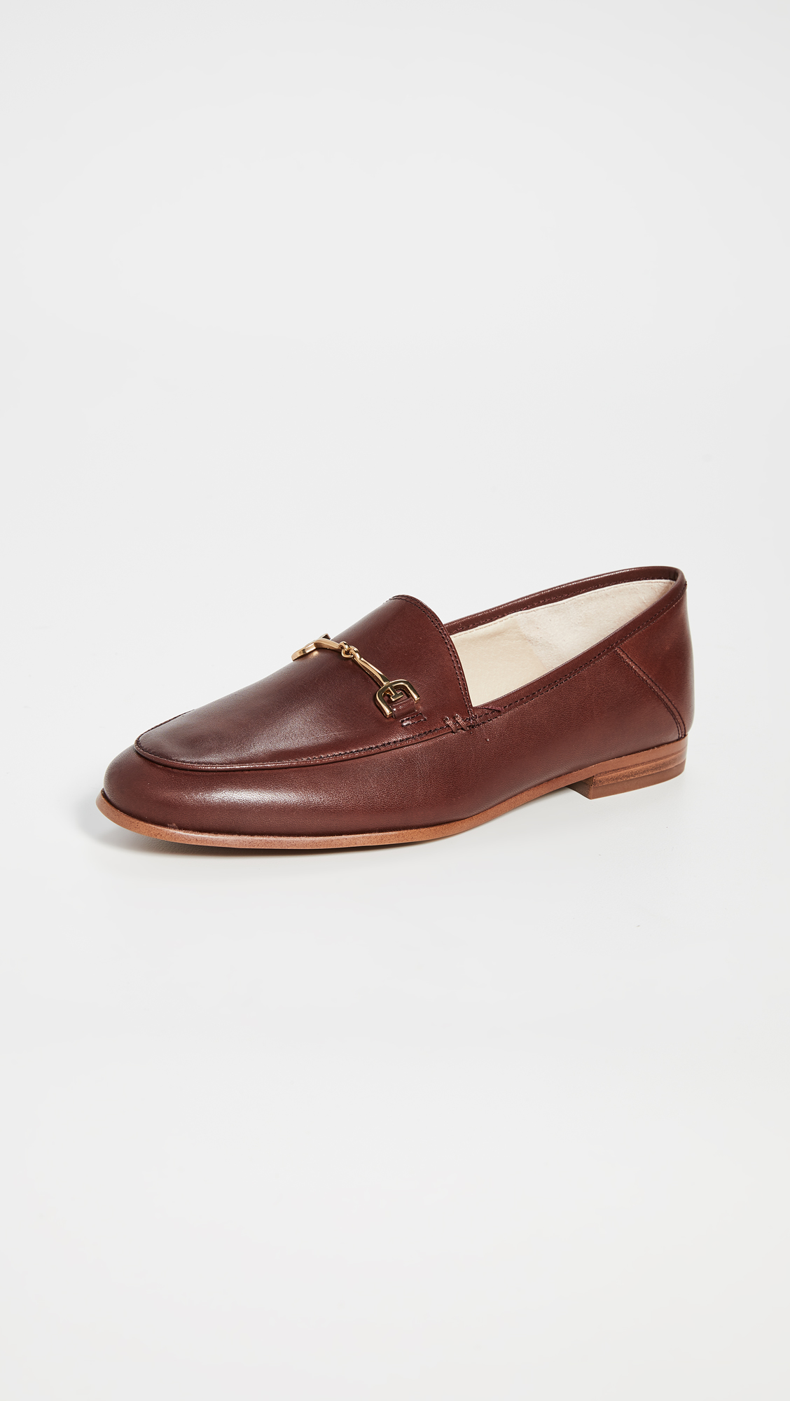 Dark Red Loafers