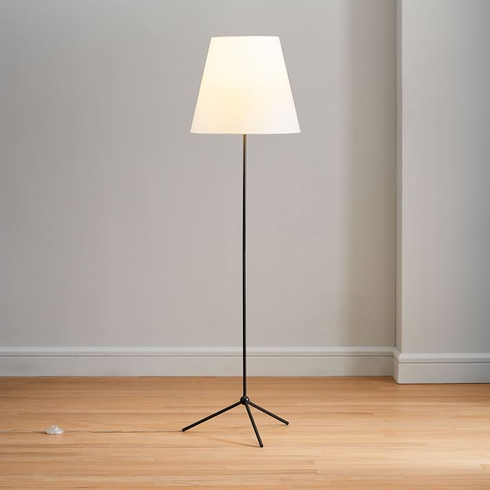 Tapered Shade Floor Lamp