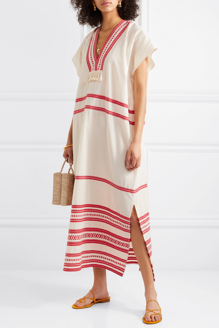 Tasseled Maxi Dress