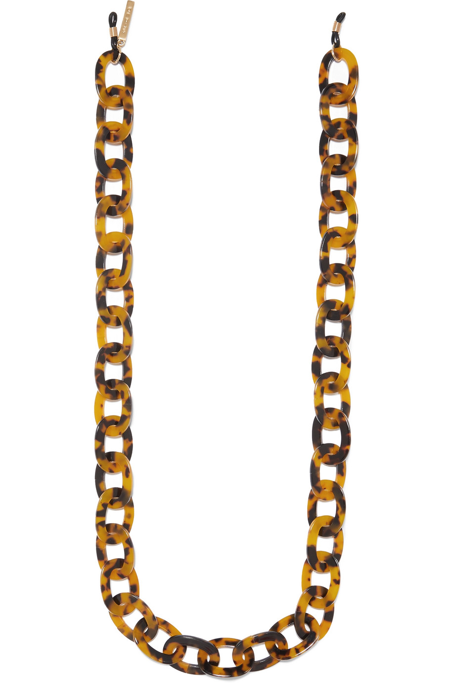 Tortoiseshell Resin Necklace