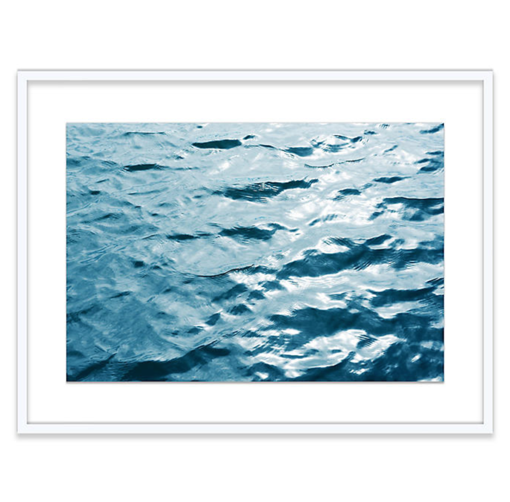 White Frame Water Print