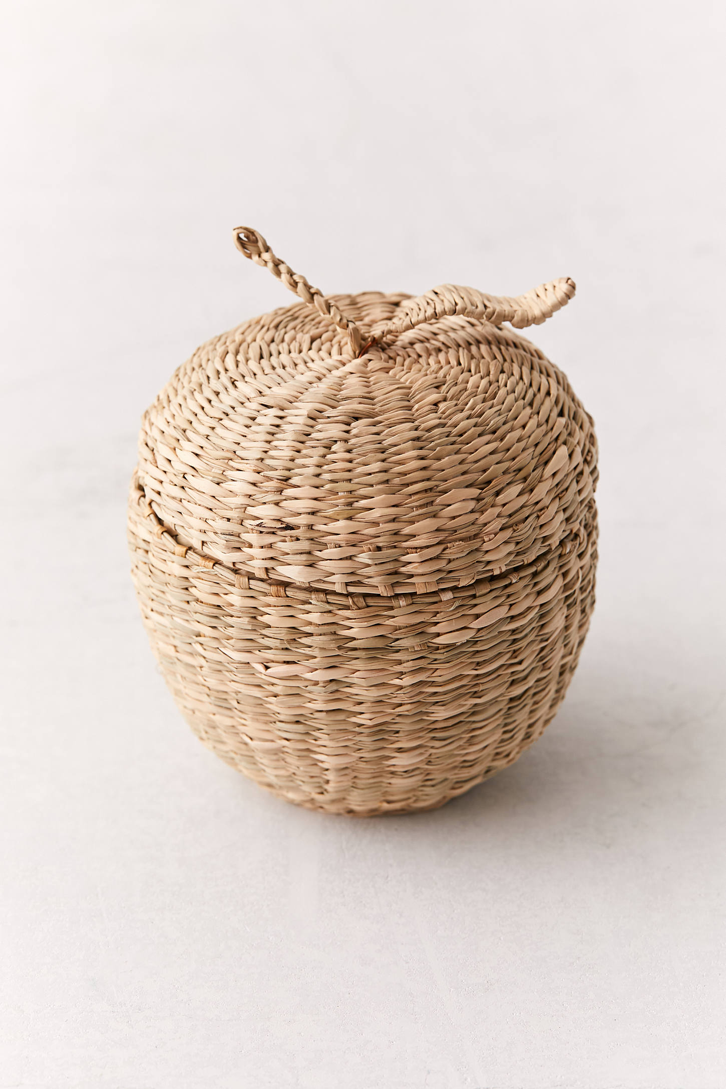 Apple Wicker Storage Box