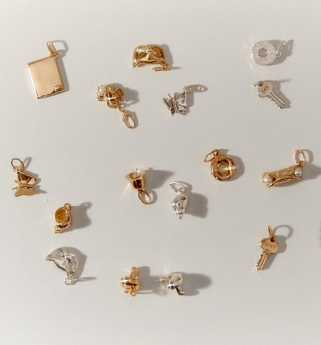 Catbird Charms Jewelry Yellow Gold Silver Brooklyn