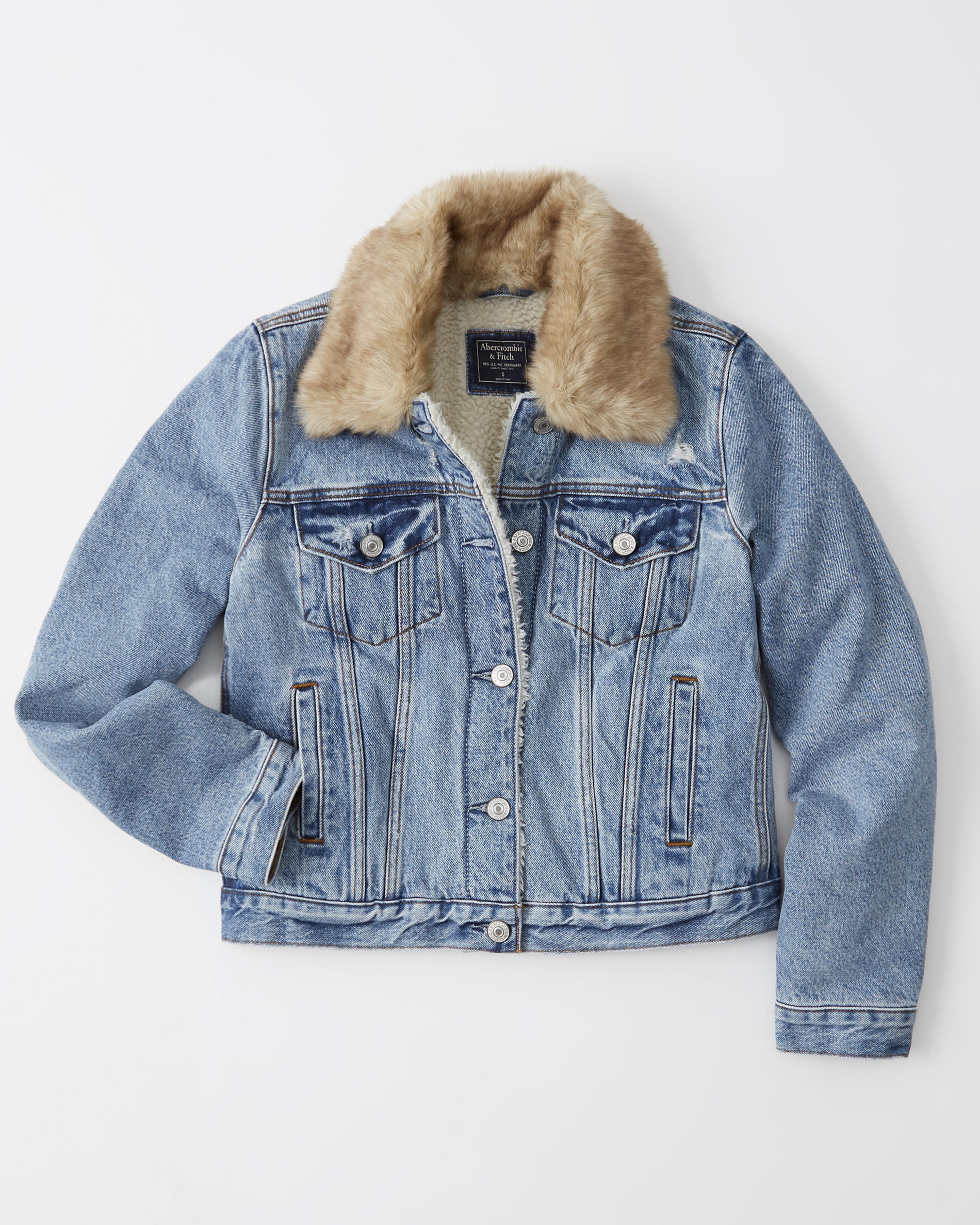 Classic Sherpa Denim Jacket