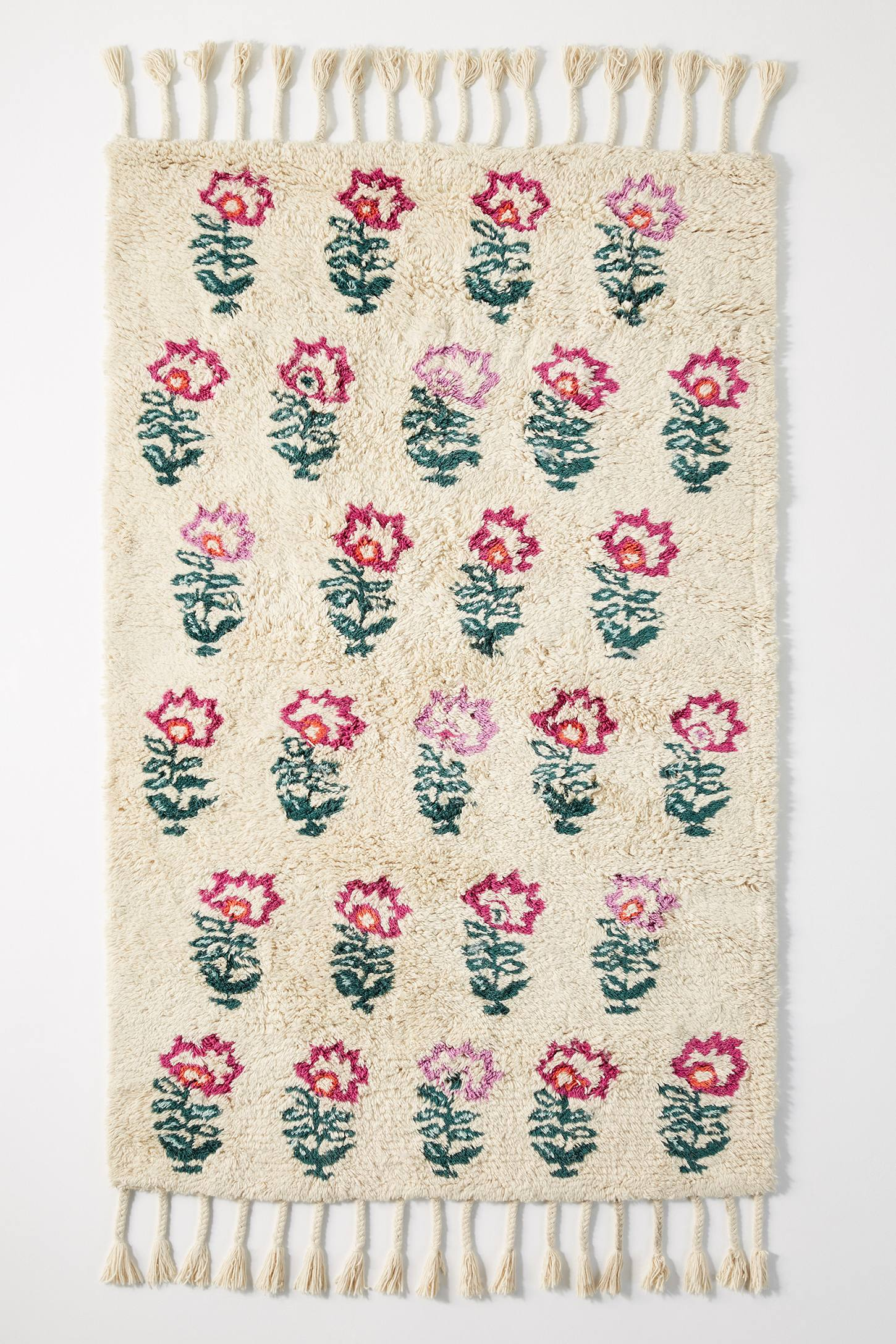 Hand Tufted Floral Rug