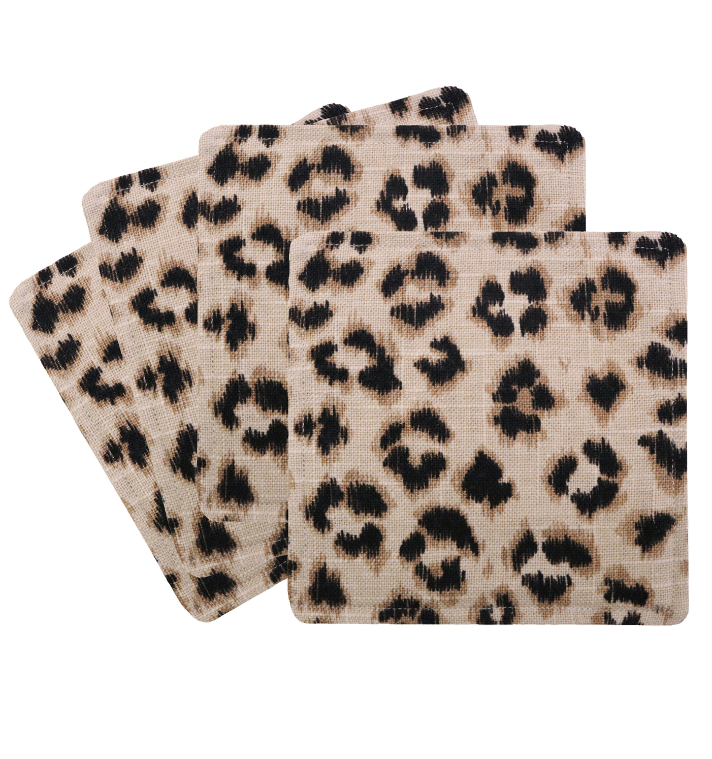Leopard Print Cocktail Napkins