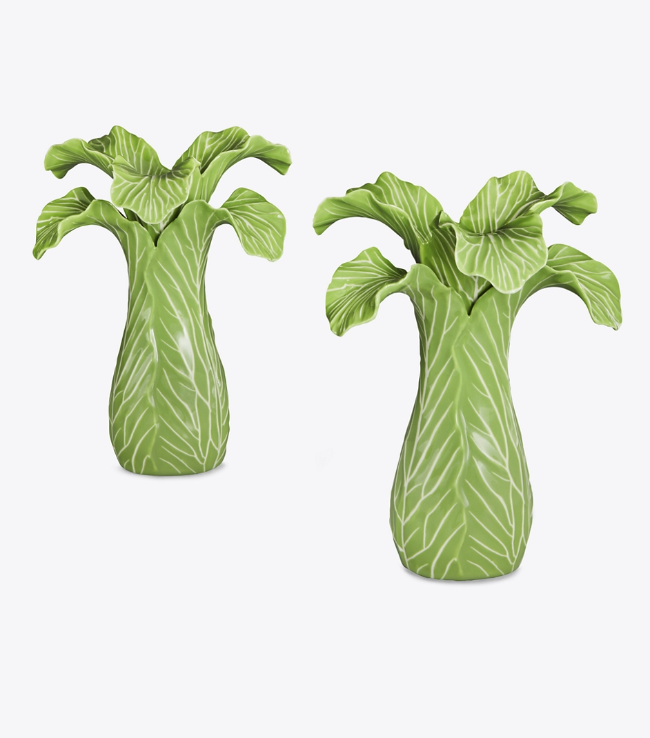 Lettuce Candlestick Holder