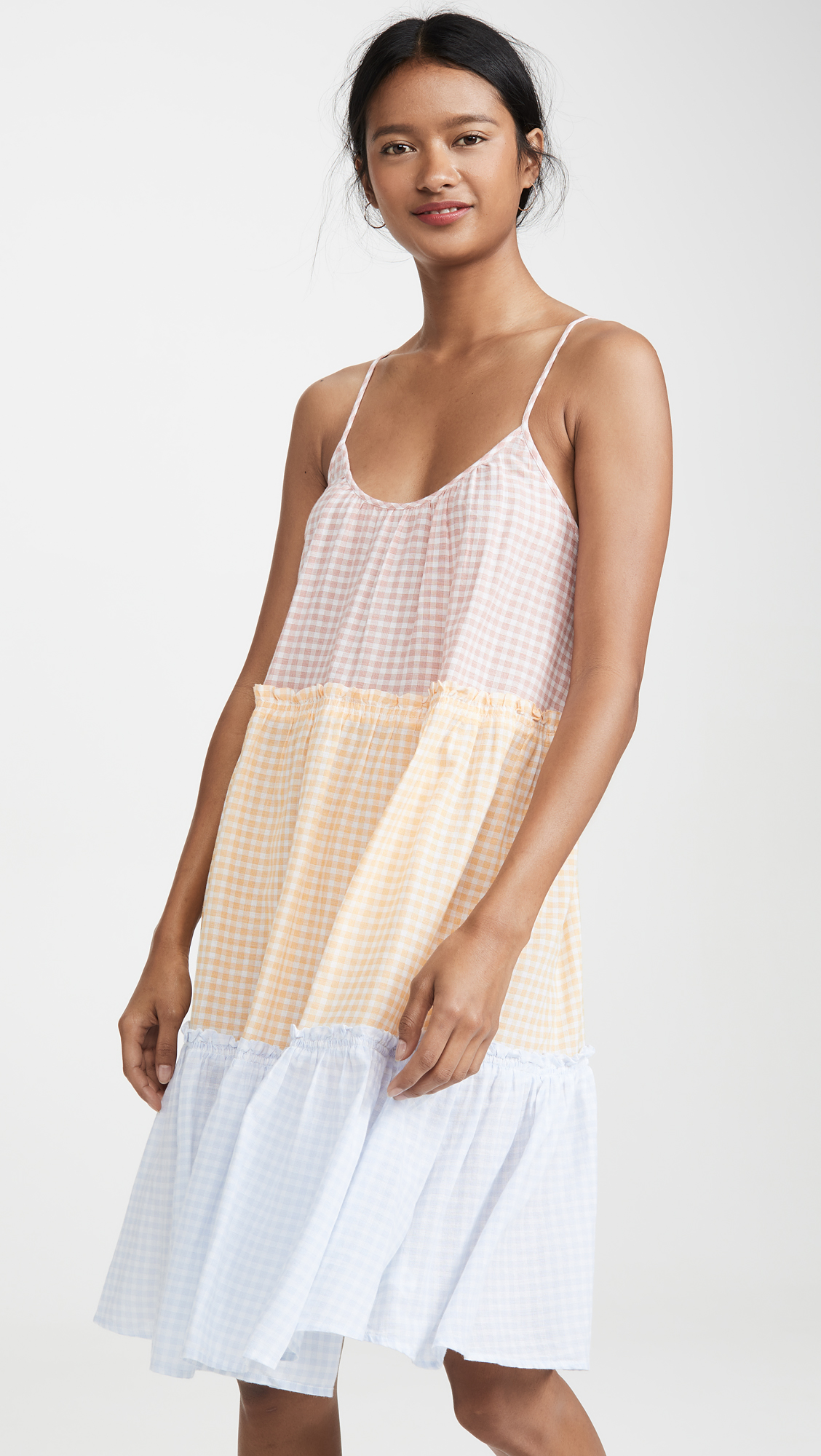 Gingham Sleep Dress