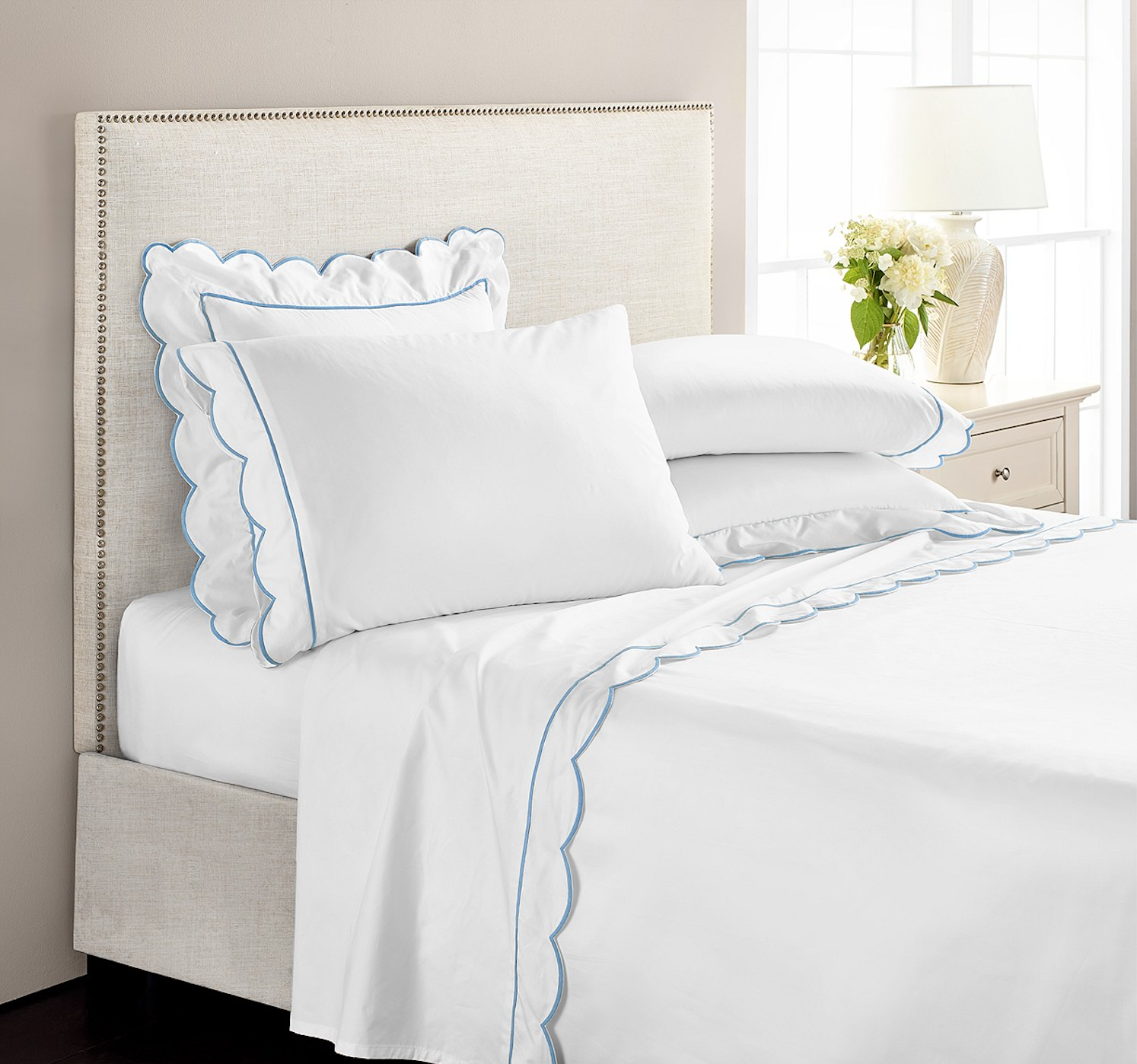 Scalloped Edge Sheet Set