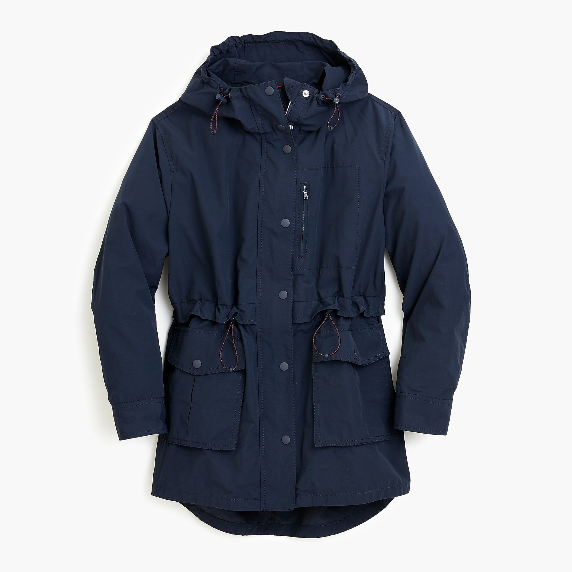 Navy Blue Rain Jacket