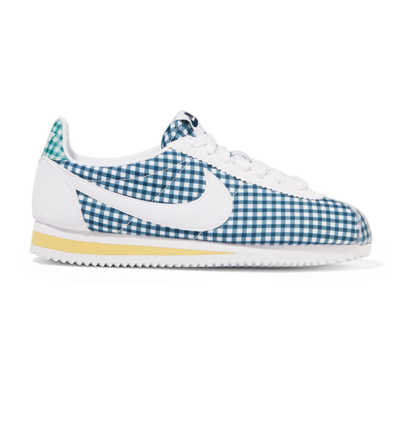 Canvas Gingham Sneakers