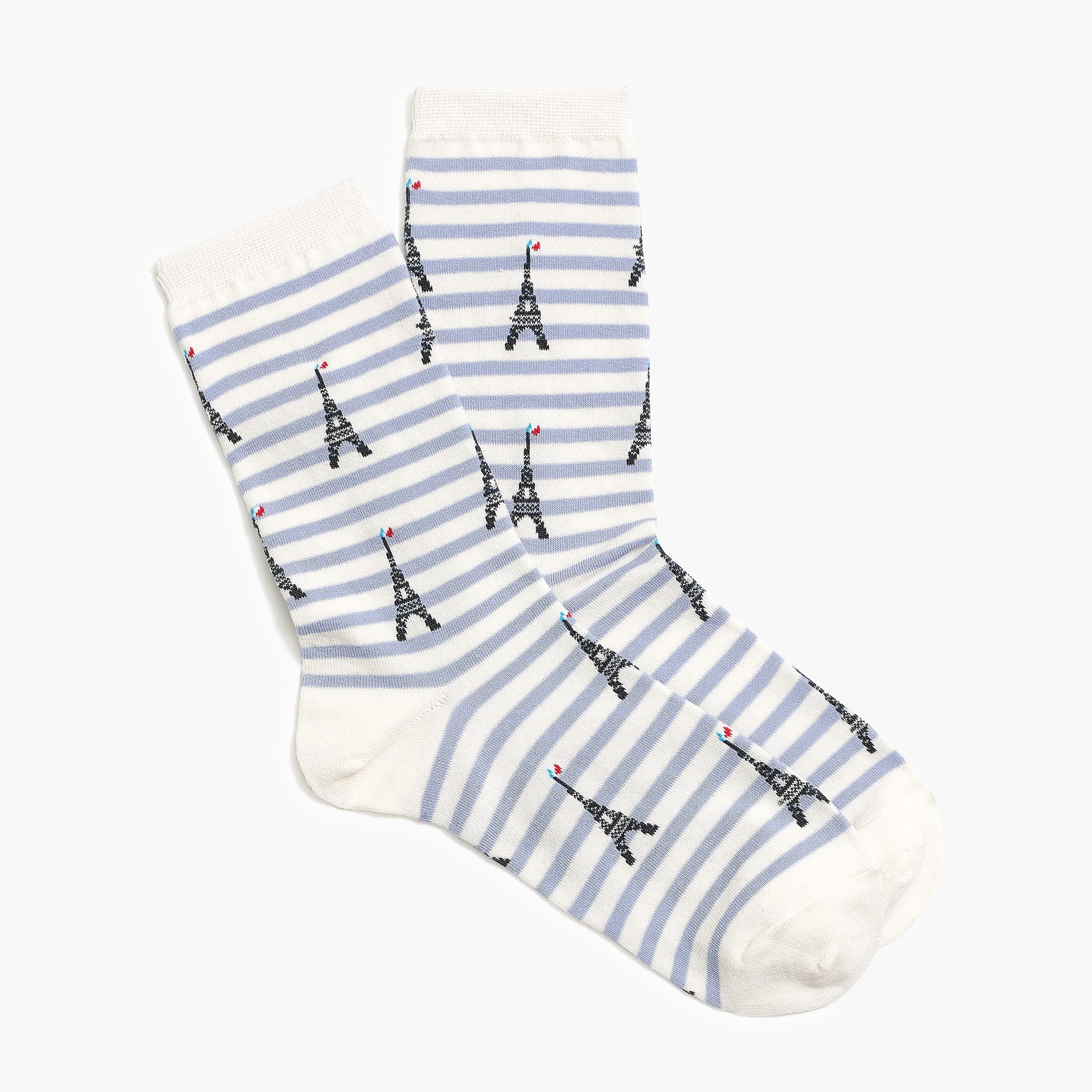 Paris Eiffel Tower Trouser Socks