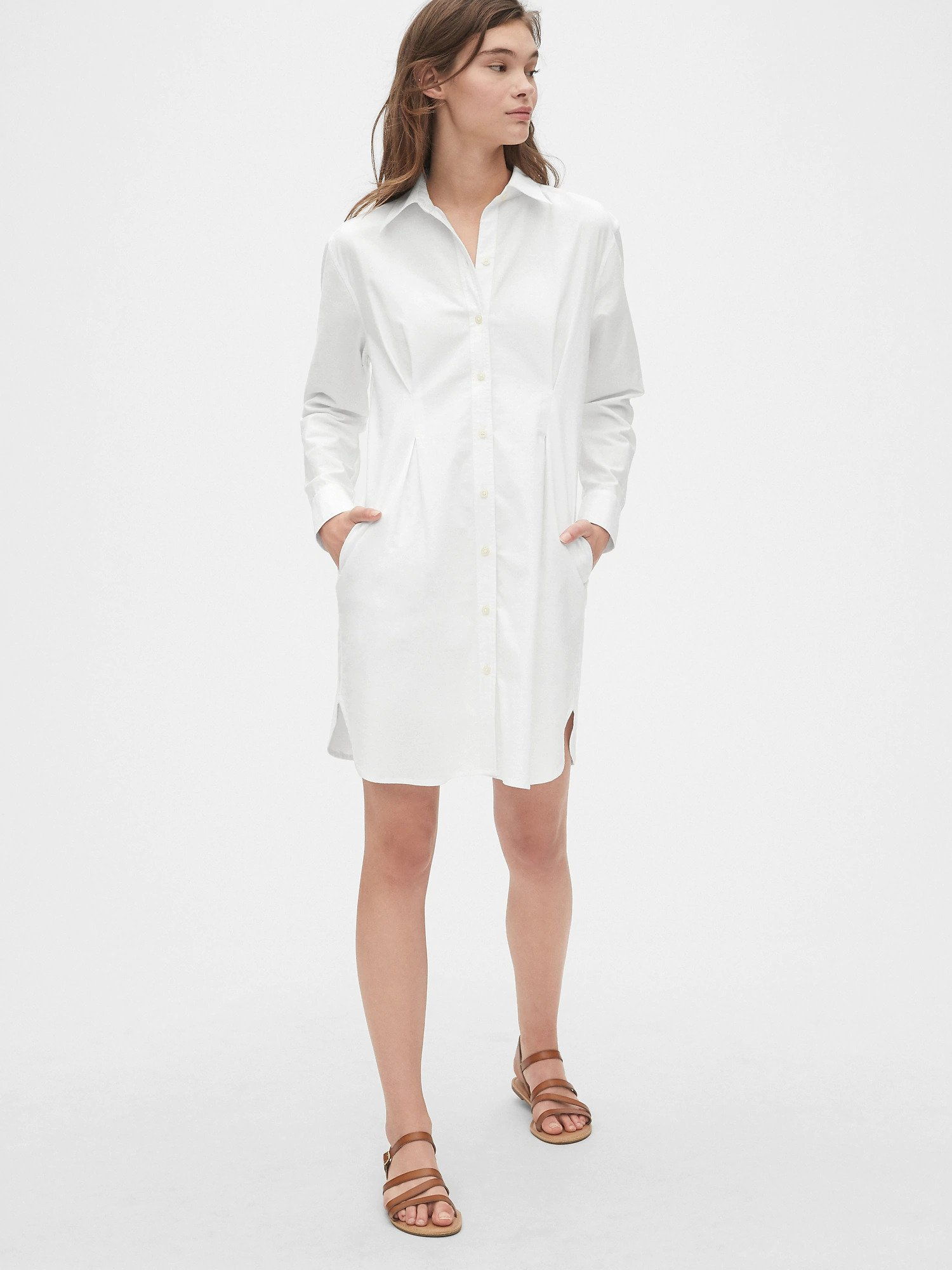 Button Front Shirtdress