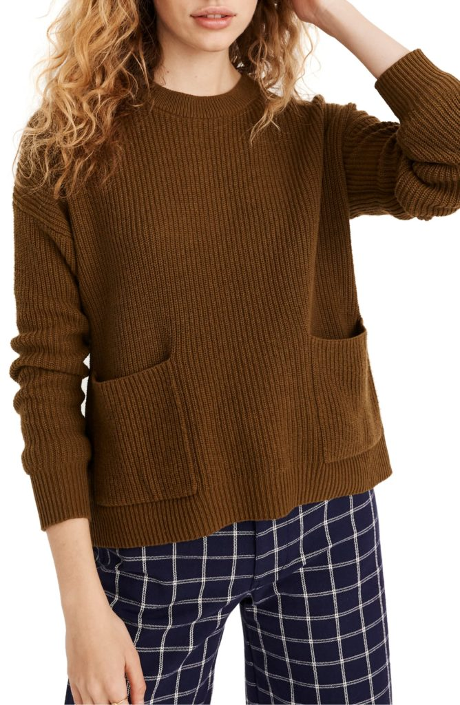 Patch Pocket Sweater