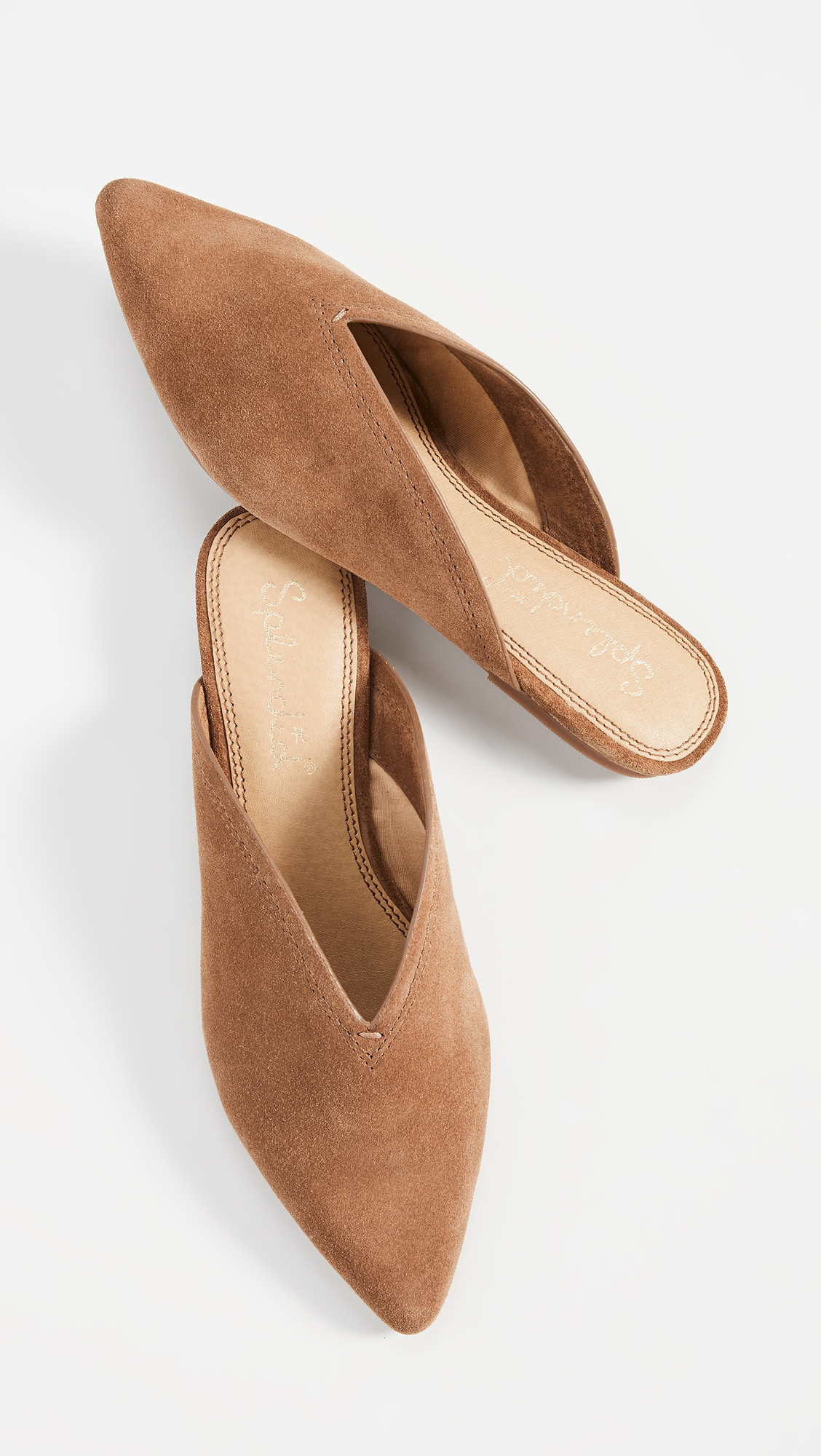 Pointed Toe Mules