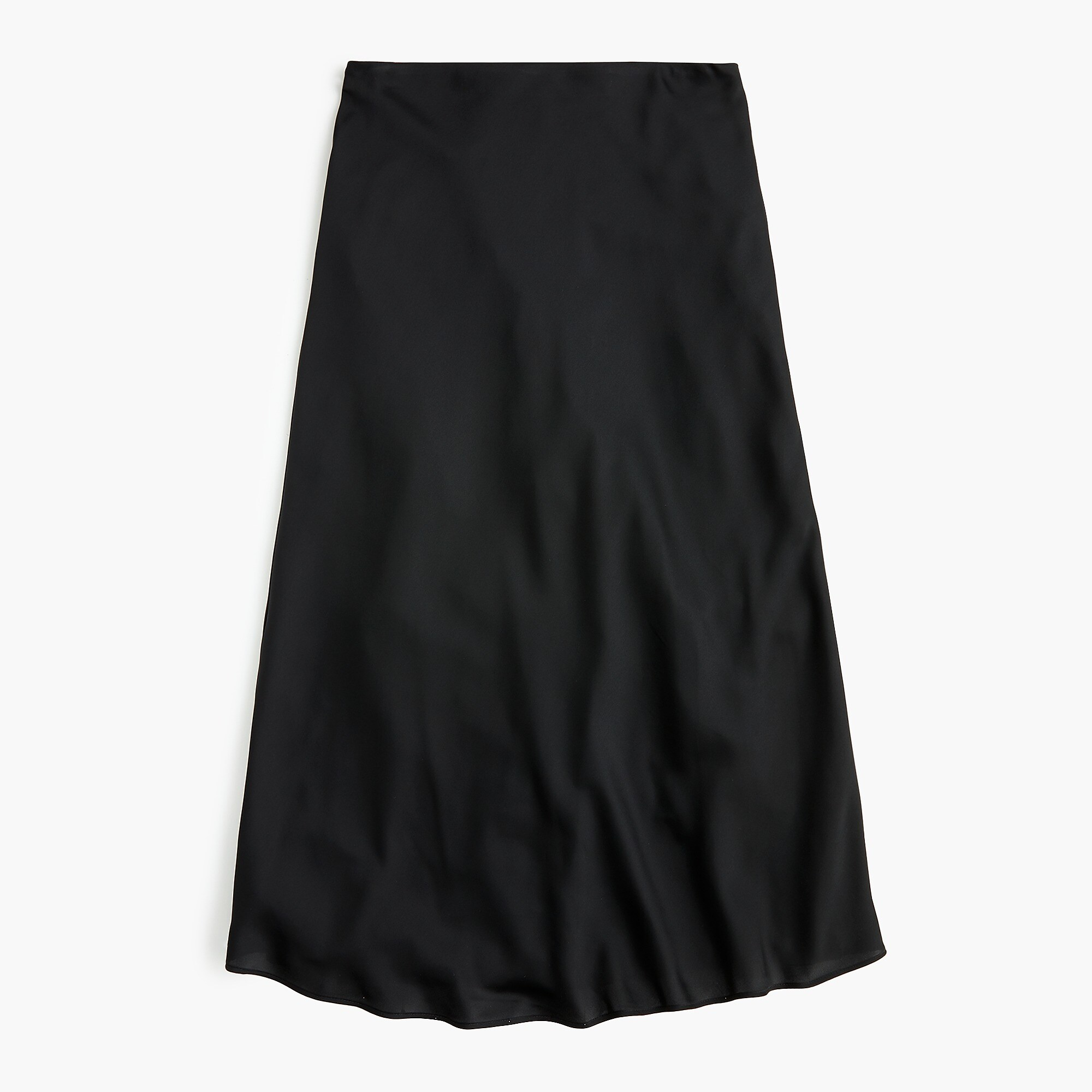 Black Slip Skirt