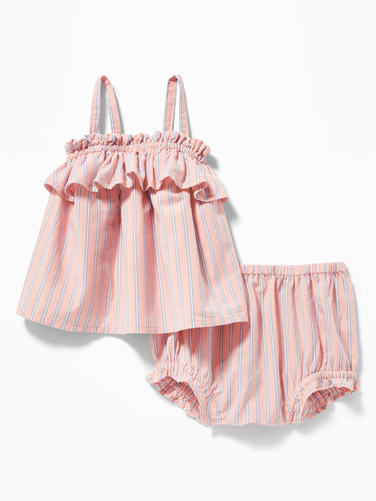 Pink Striped Bloomers