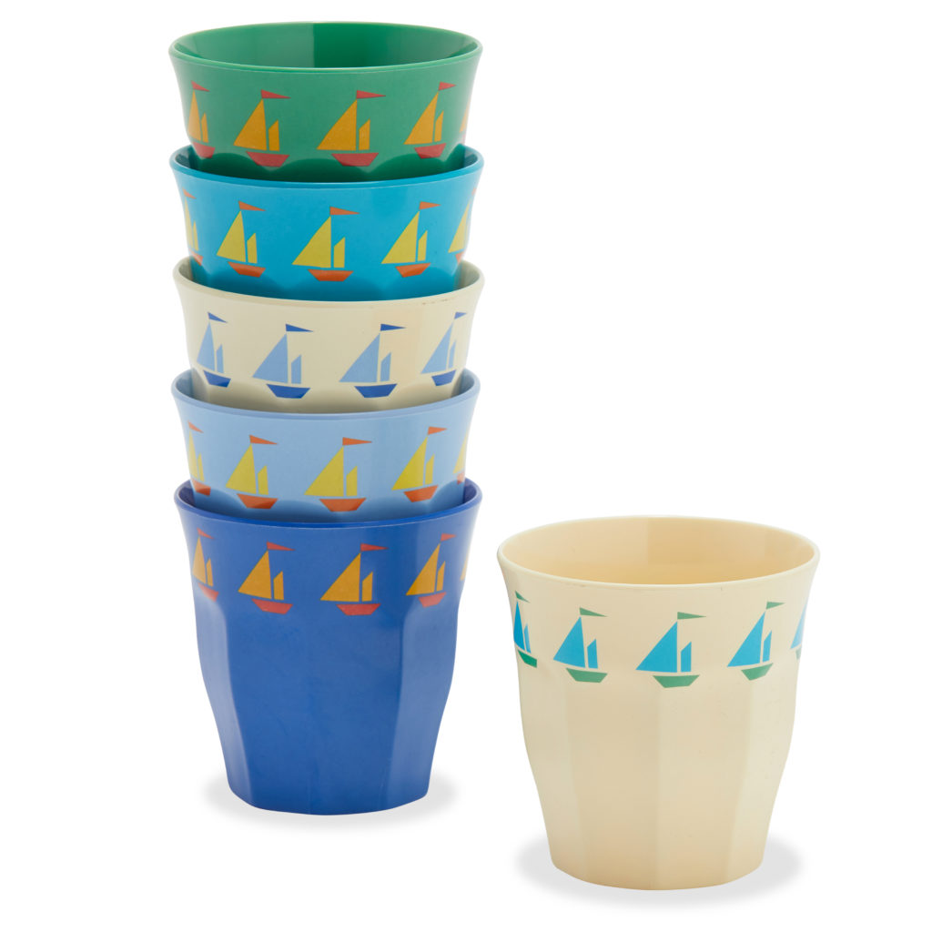 Sailboats Cups Kids