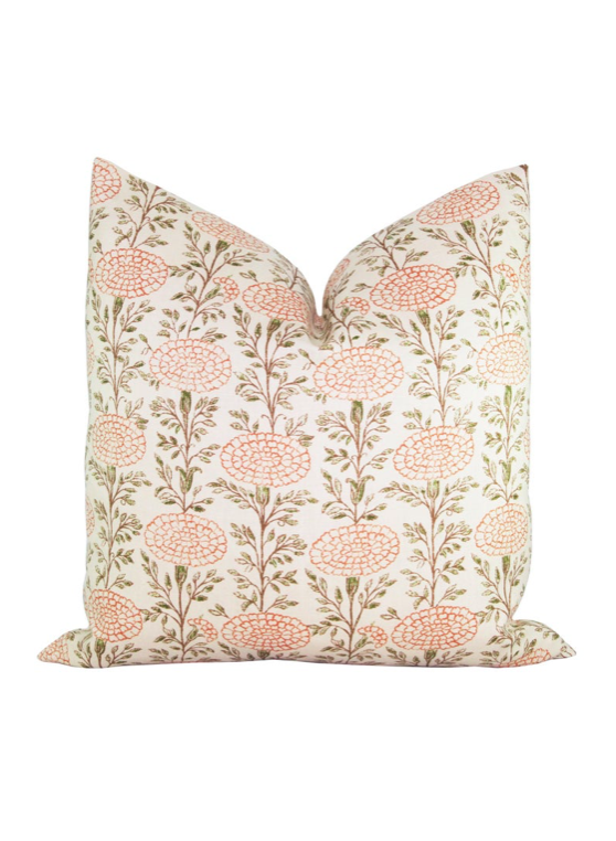 Samode Pillow Cover Lisa Fine Textiles Floral Pink Etsy