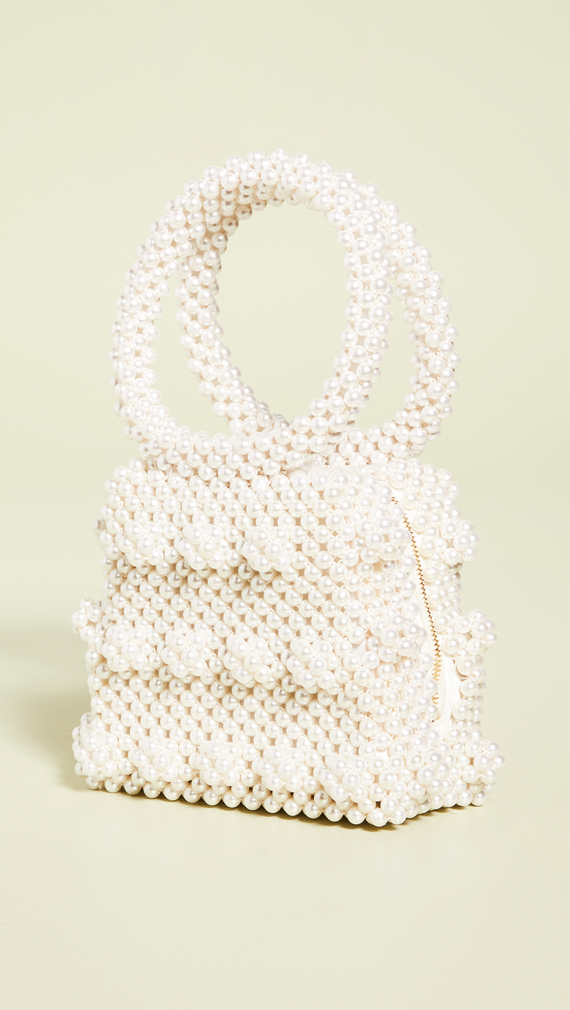 Imitation Pearl Purse