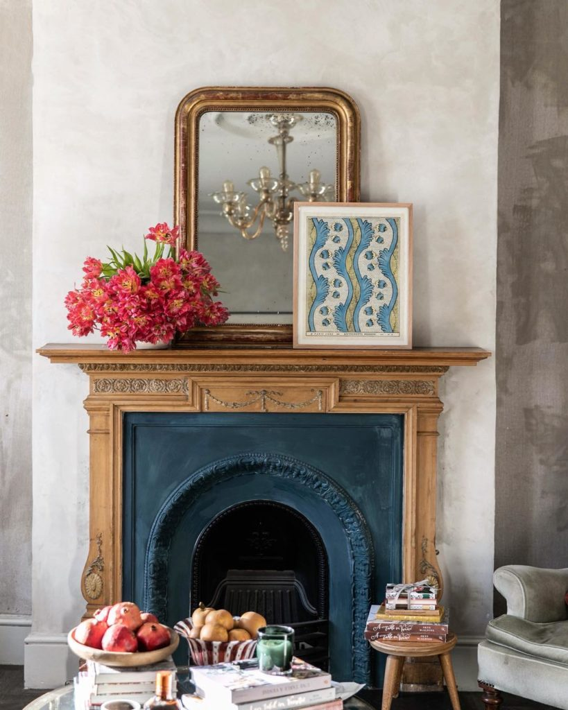 Skye McAlpine Fireplace Mantle