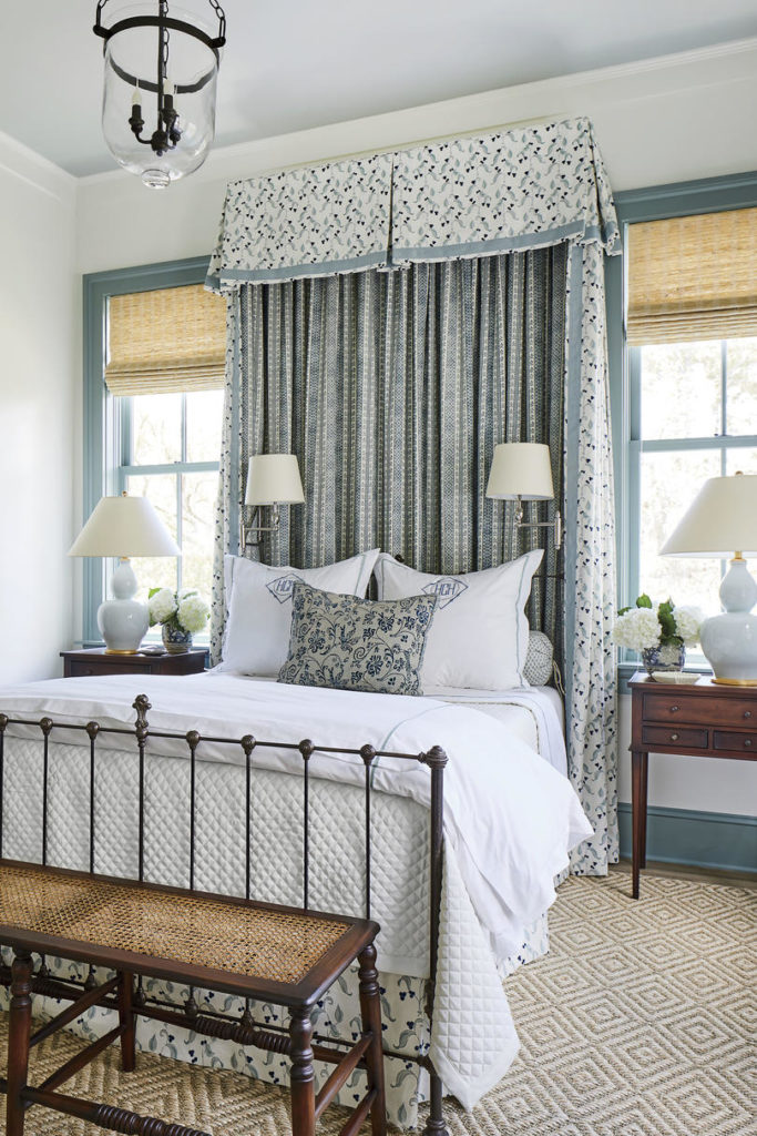 Antique Iron Bed Bedroom Heather Chadduck Interiors Southern Living Idea House 2019
