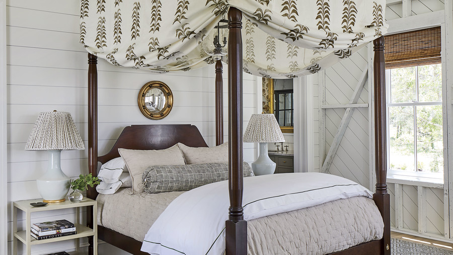 Four Poster Bed Heather Chadduck Interiors Southern Living Idea House 2019