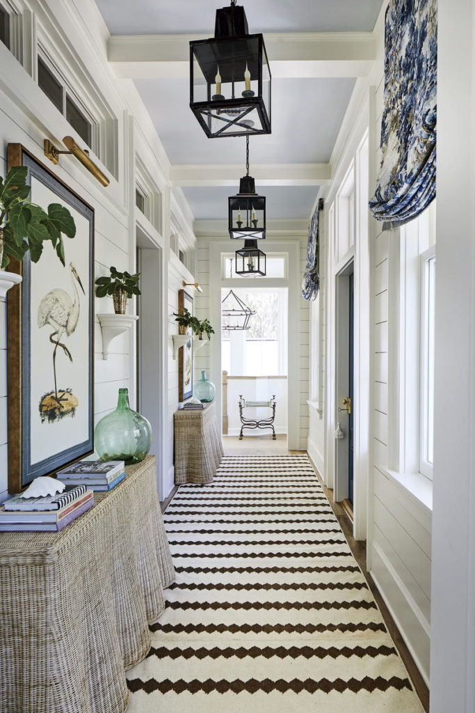 Hallway Heather Chadduck Interiors Southern Living Idea House 2019