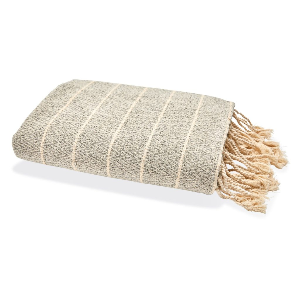 Striped Decorative Throw Blanket