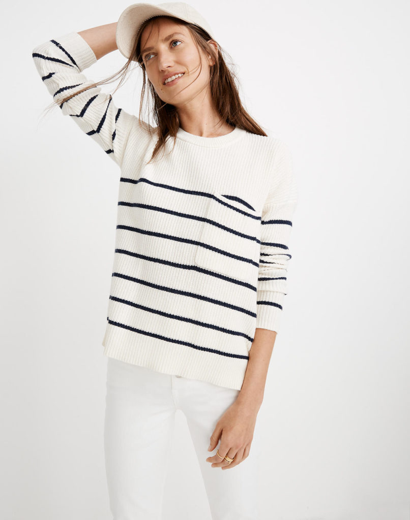 Striped Nautical Sweater Madewell