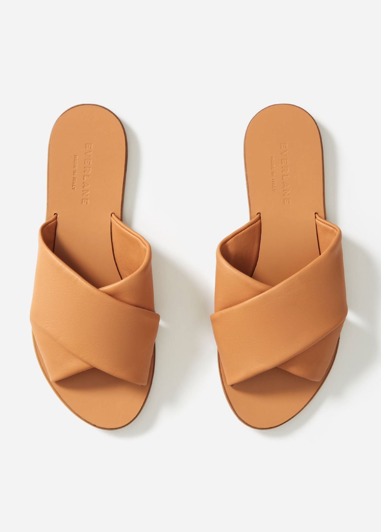 Leathers Crossover Sandals